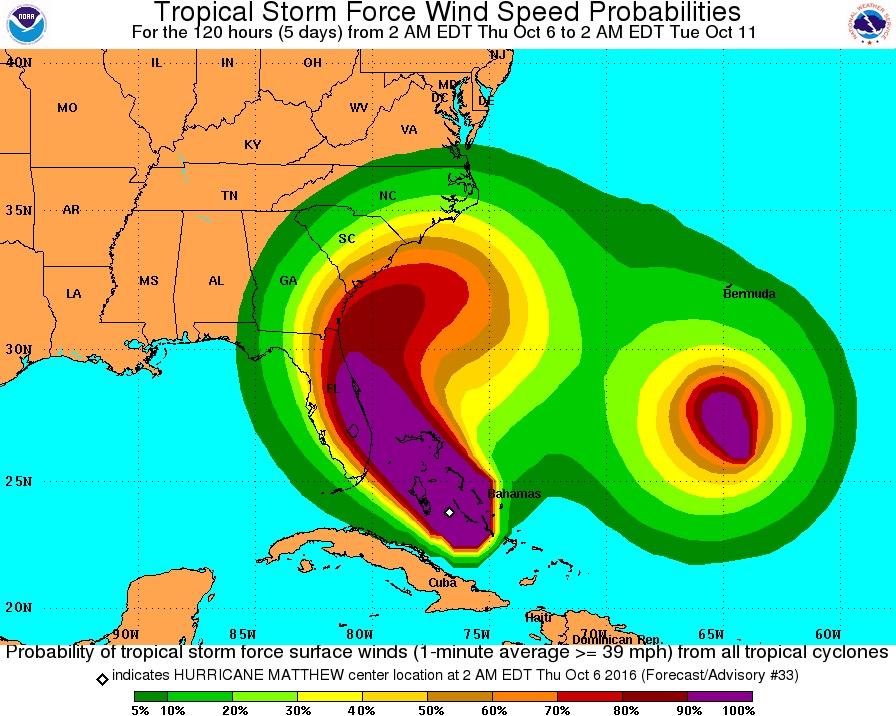 USA  death toll climbs to 9 in wake of Hurricane Matthew