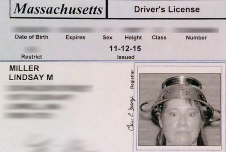 Pagan Priest Wears Goat Horns in Maine State Issued ID Photo