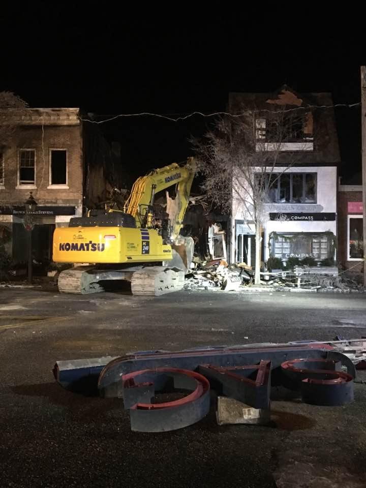 sag harbor movie theater demolished after fire