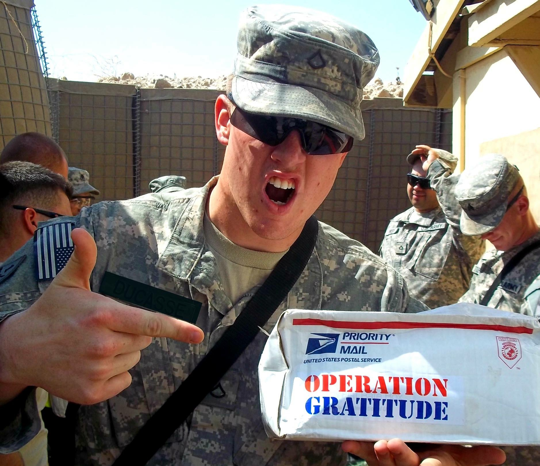 Local dentist offices sending candy to troops