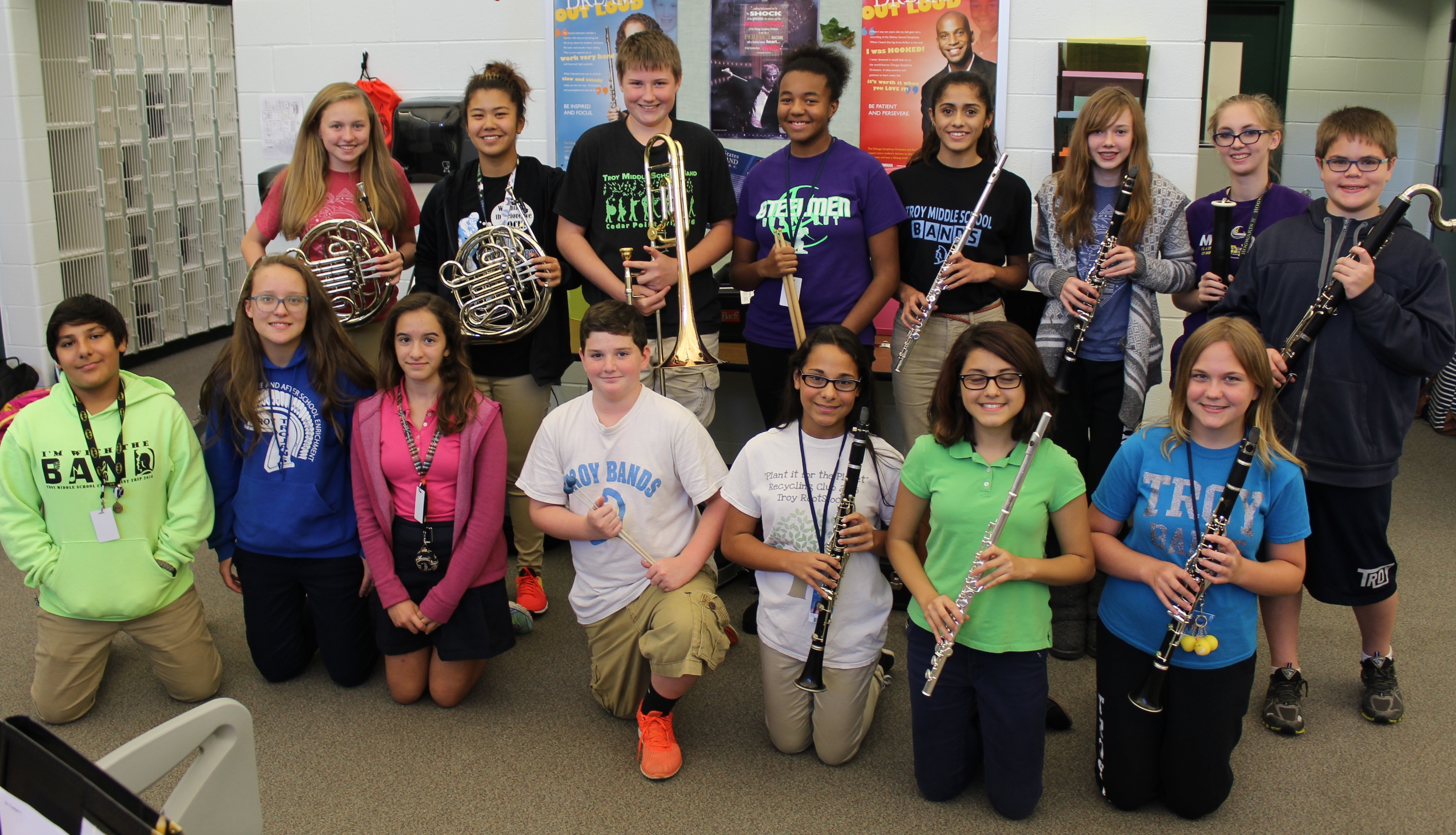 Troy Students To Play In State Junior Music Festival