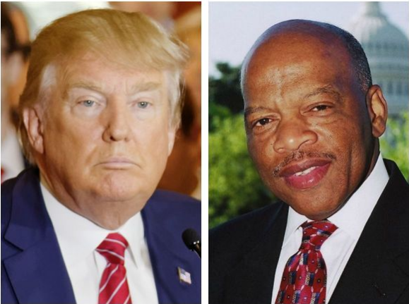 County Commissioner in GA Calls John Lewis a 'Racist Pig' on Facebook