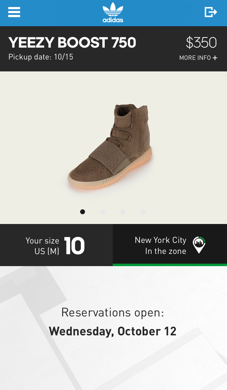 Unfortunately Footlocker and Adidas are the only retailers releasing the Yeezy  Boost 750 Light Brown, so be sure to follow these steps and hopefully  secure ...