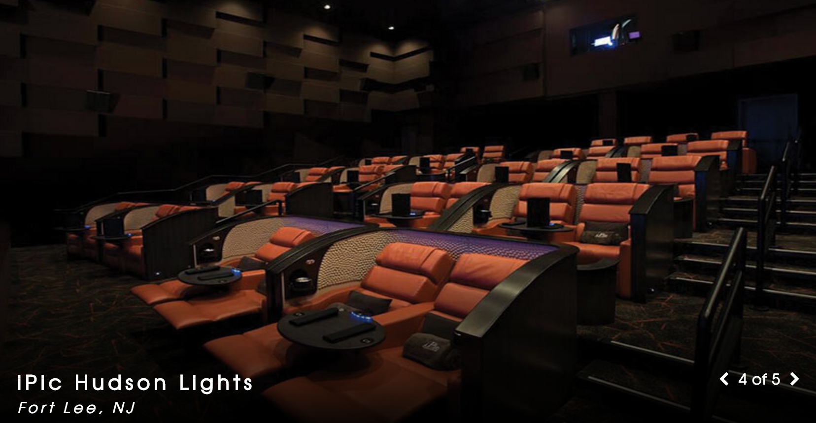 Luxury ipic movie theater set to open in south street New jersey dine in theatre