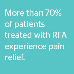 RFA Treatment with Dr. Bathla