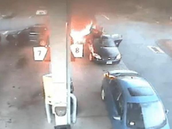 Farmington police release video of gas station crash that led to fire