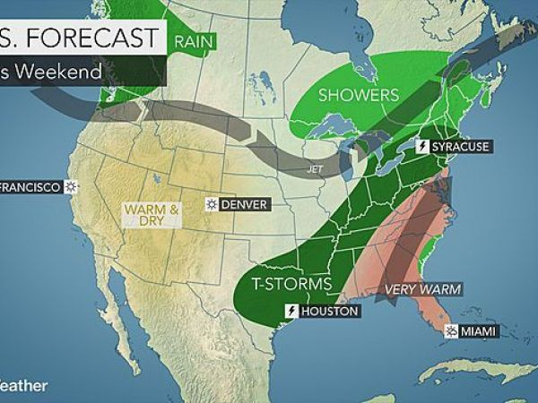 Scattered showers, thunderstorms continue Thursday