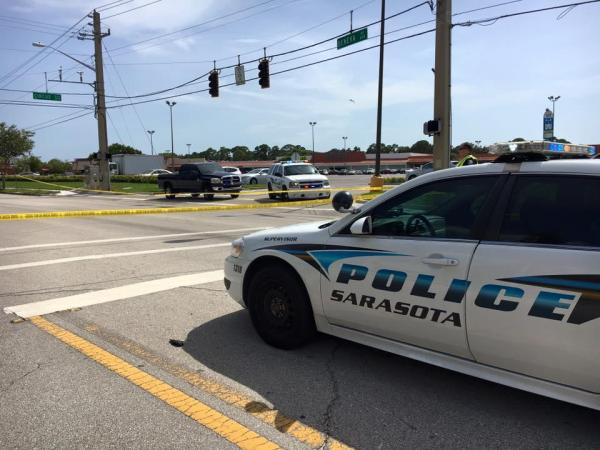 Sarasota Intersection Open After Scooter Vs Vehicle Carsh