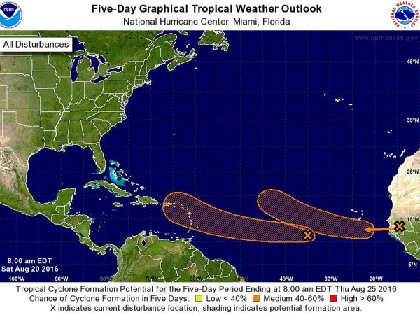 Fiona is holding as tropical depression in the Atlantic