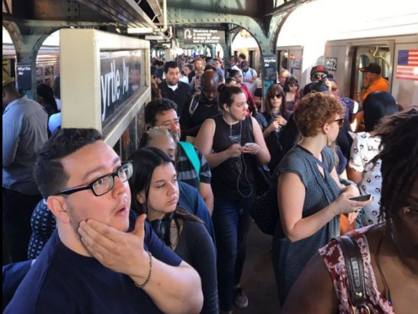 J Train Conductor Assaulted at Essex Street Station This Morning