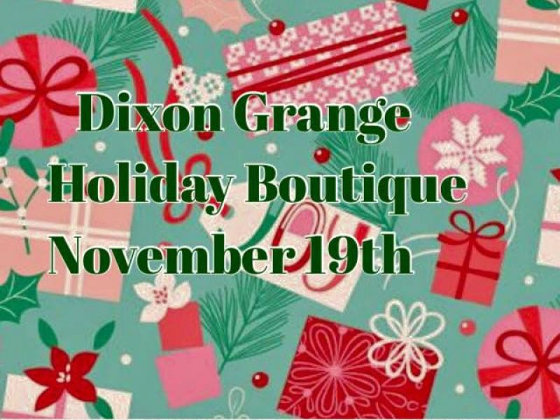 Dixon grange holiday boutique craft fair is saturday for Holiday craft fair napa ca