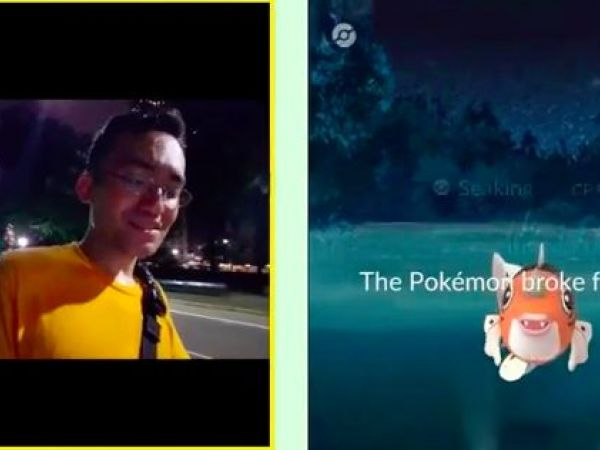 Pokémon Go player records own mugging on livestream