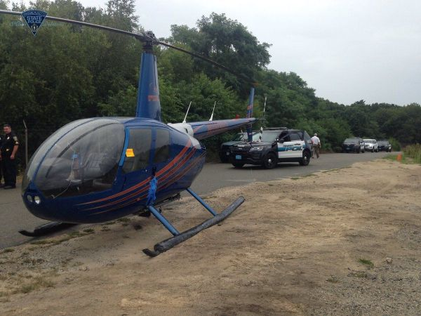 Helicopter makes emergency landing in Peabody