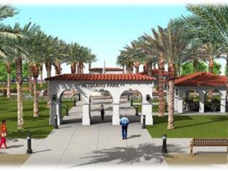 Groundbreaking Ceremony Held For Veterans Memorial Park In Coachella Palm Desert Ca Patch