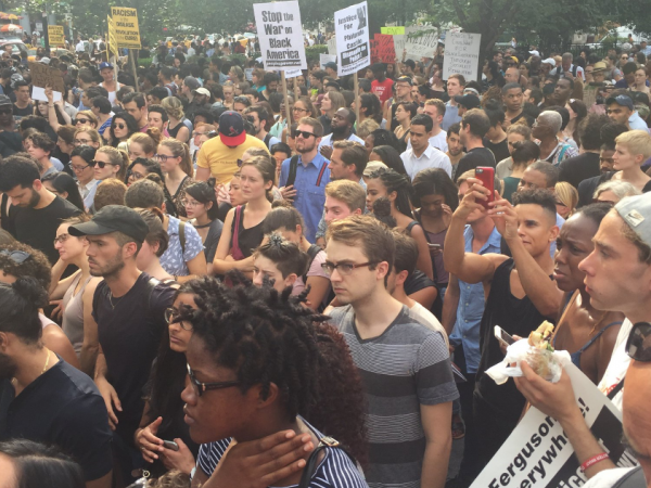 Marchers take to streets of NYC to protest police killings