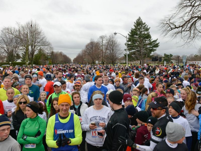 Annual Turkey Trot Expected To Draw Record Crowd Garden