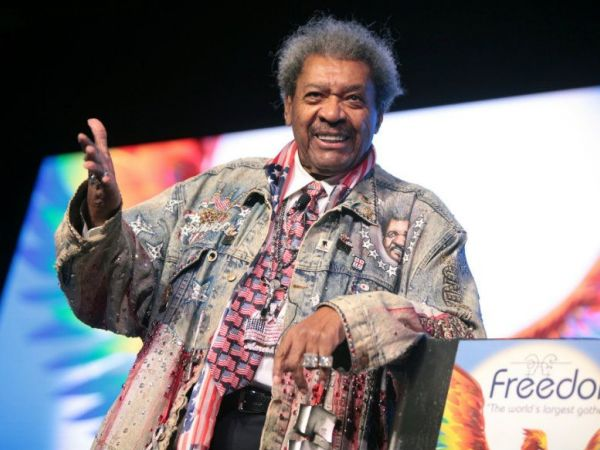 Don King says n-word at Trump rally