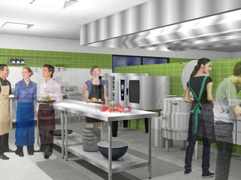 Commercial kitchen coop files final report with for Kitchen design jobs bristol