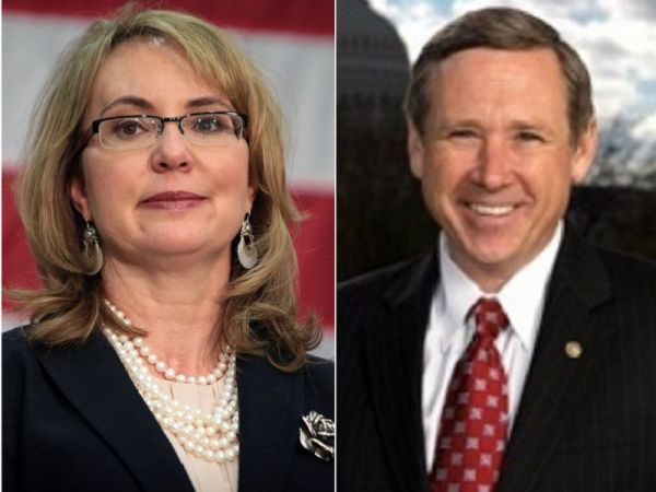 Gabby Giffords backs re-election bids of Sens. Toomey, Kirk
