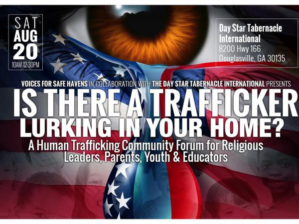 Fight Against Human Trafficking Continues In Douglas