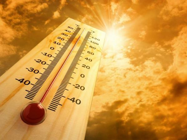 Weather: High temperatures today with heat index around 105