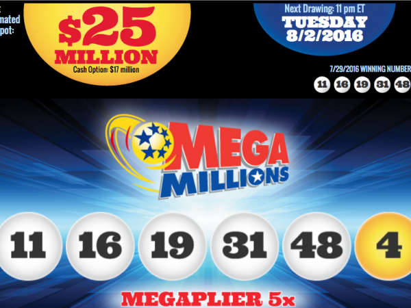 payouts for mega bucks