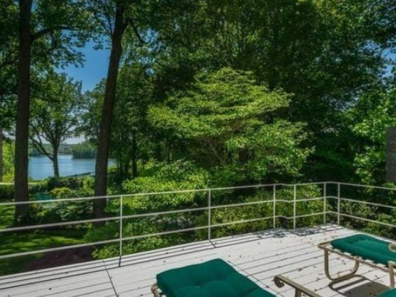 Wow House: $6.995M for Bauhaus-Style With Reservoir View, Pool, Tennis Court - Bethesda, MD Patch