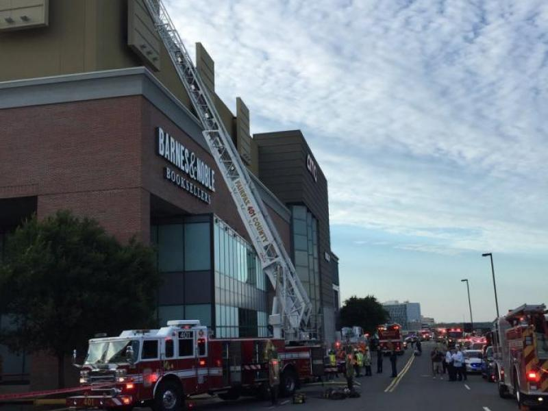 Three Alarm Fire Partial Evacuation Of Tysons Shopping