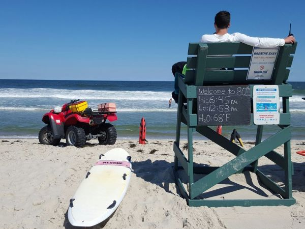 Rip tide, rough surf warnings issued for Jersey Shore beaches this week