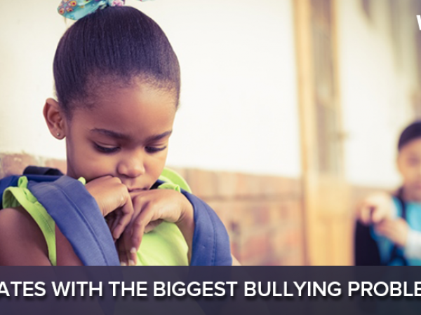 States with the biggest bullying problems