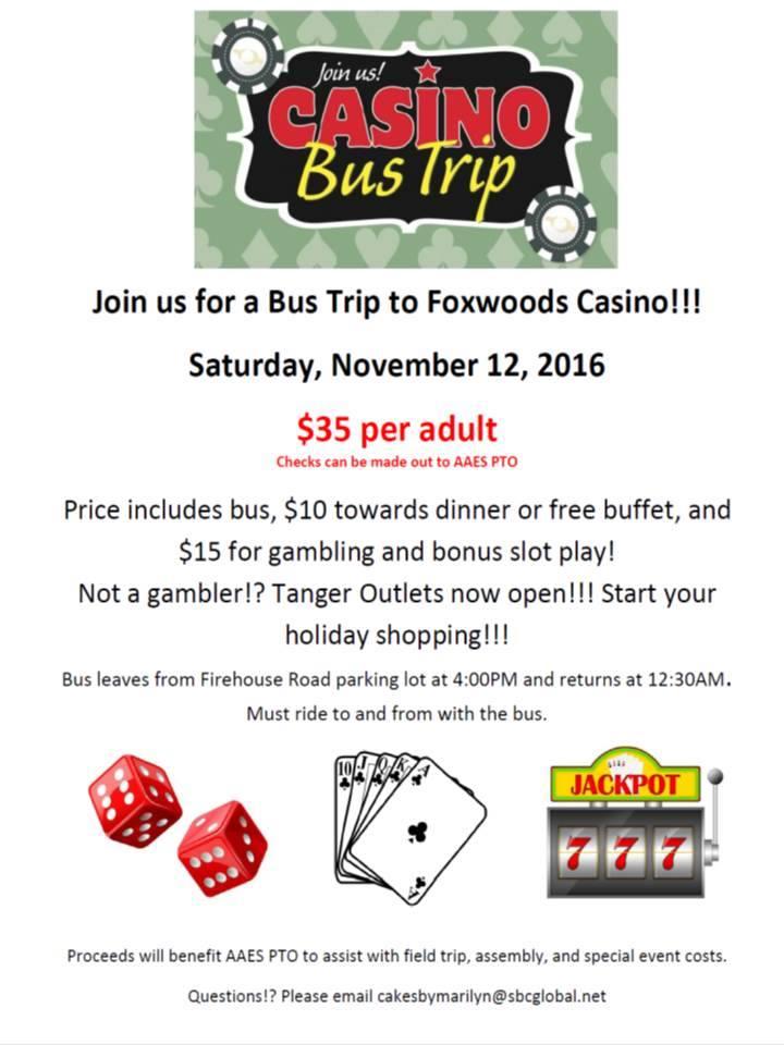 Casino bus trips bellagio casino craps