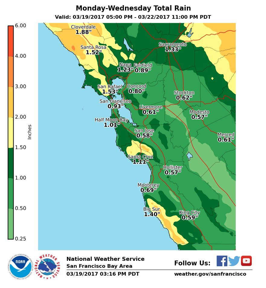 Bay Area Braces For Rain With Approaching Storms