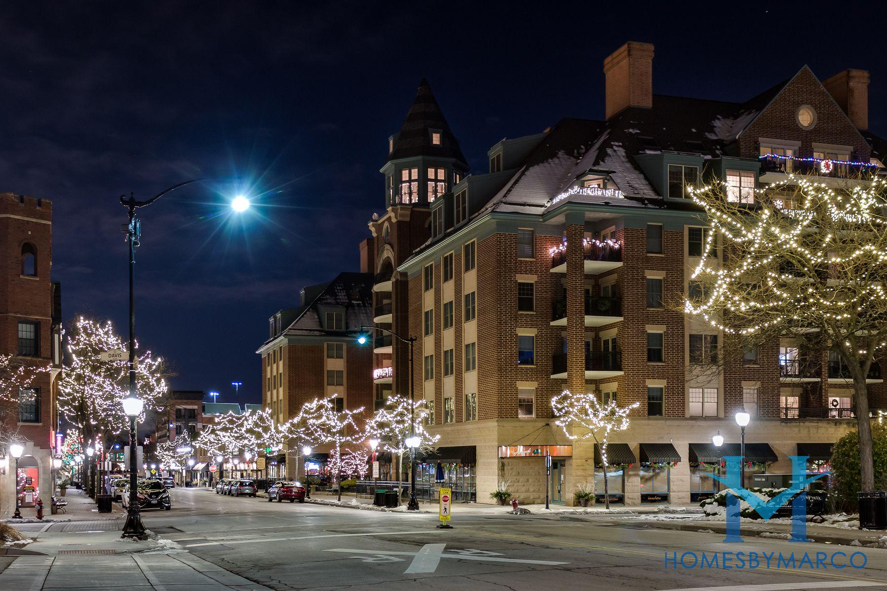 Holiday Lights In Arlington Heights Arlington Heights