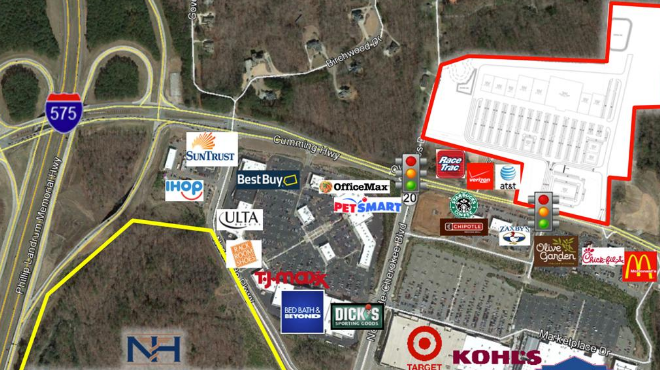 New Retail Center To Include Homegoods Hobby Lobby Canton GA Patch - Hobby lobby us map