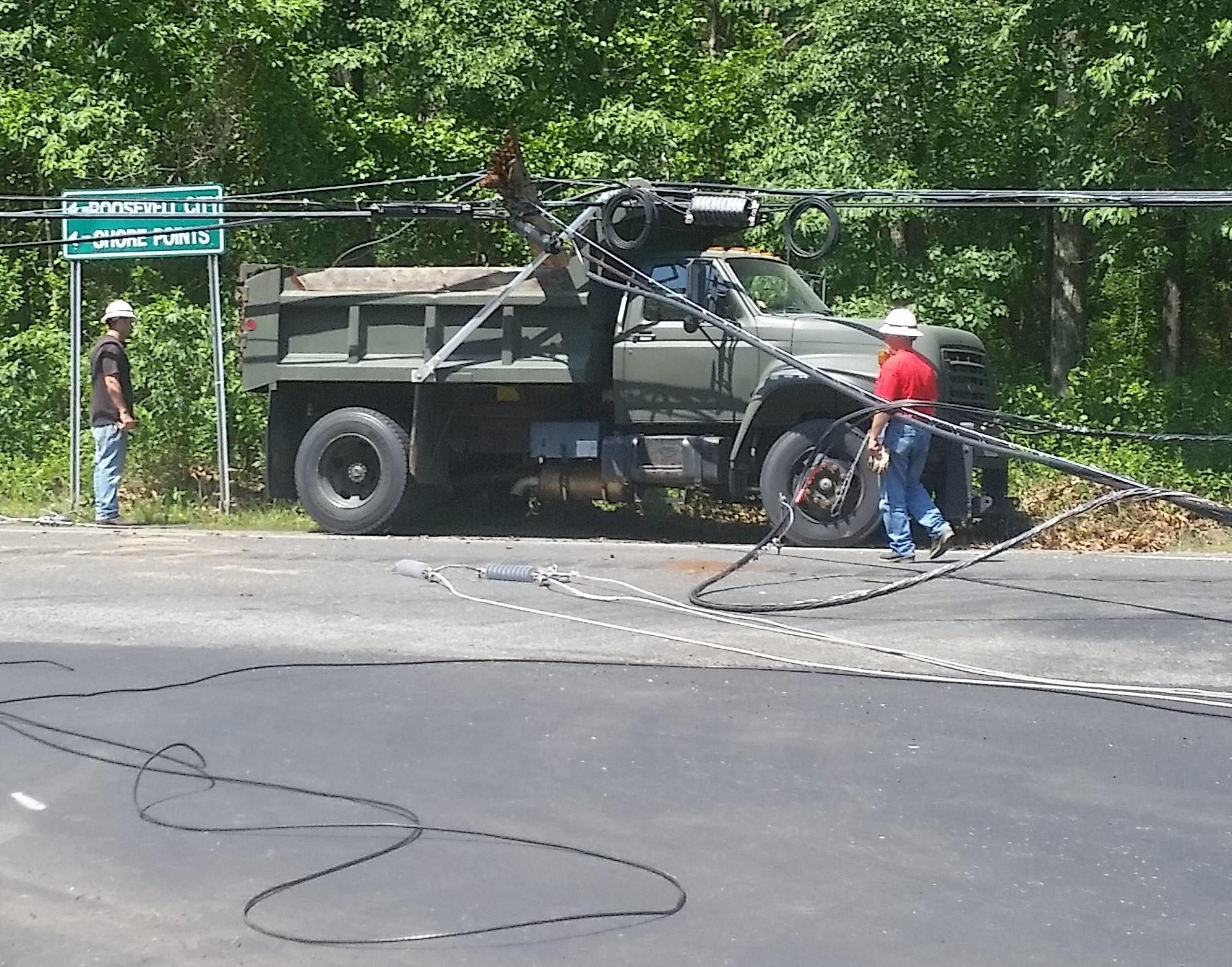 New Jersey Dump Truck Crash