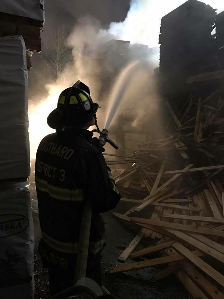 Firefighter Injured During Suspicious Fire At Howell