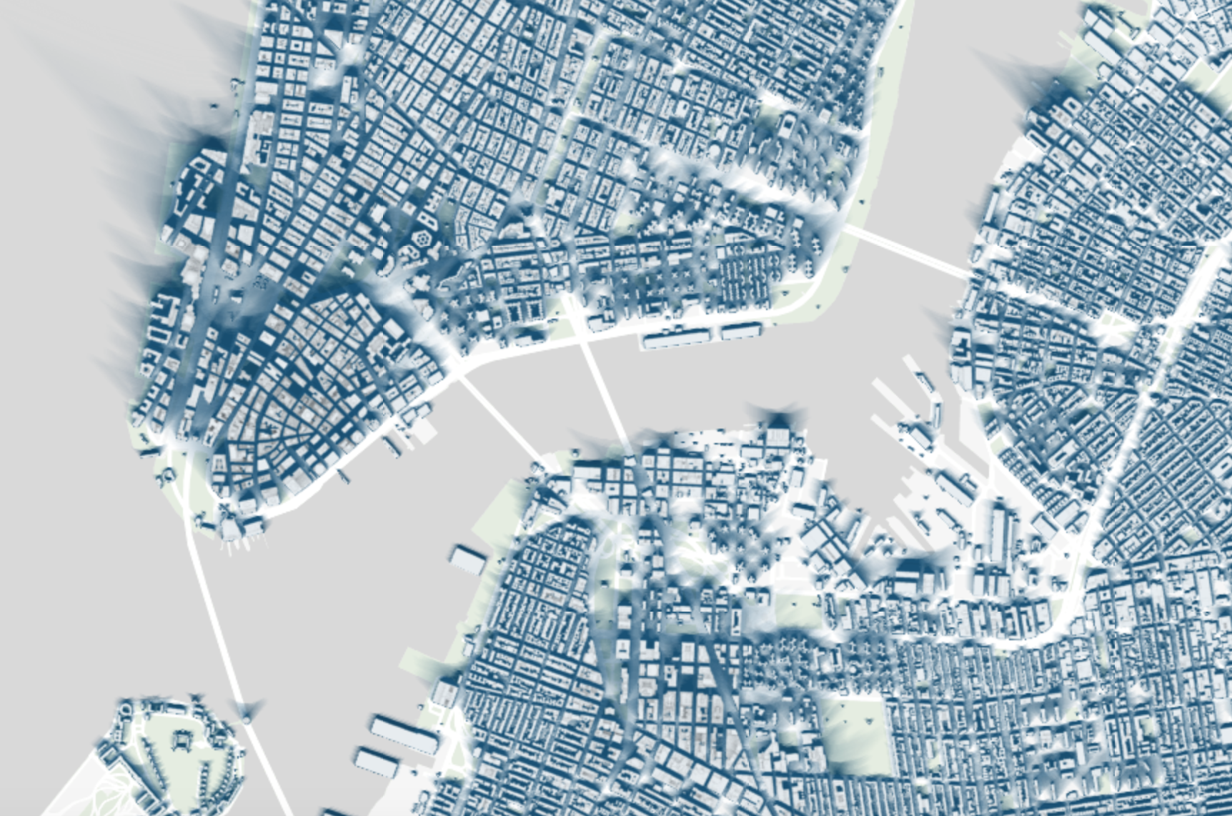 NYC Shadow Map How Much Shade Is Cast On Your Street By City - Nycmap