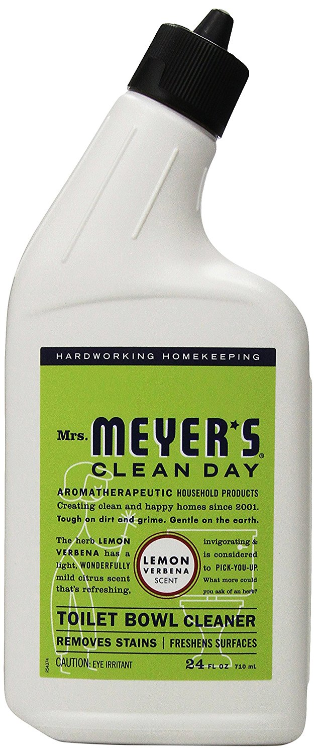 Meyers Bathroom Cleaner - Another natural toilet cleaning option is this lemon verbena scented version from mrs meyer s line you can also purchase it in a lavender scent for 4 50