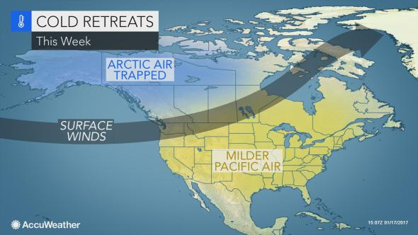 Massachusetts LongRange Weather Forecast Warm January Gives Way - Us weather map for next week