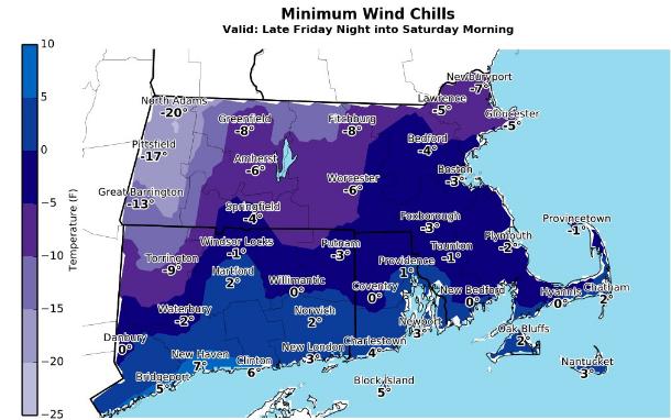Massachusetts Weather Forecast Arctic Chill Freezes Us Snow