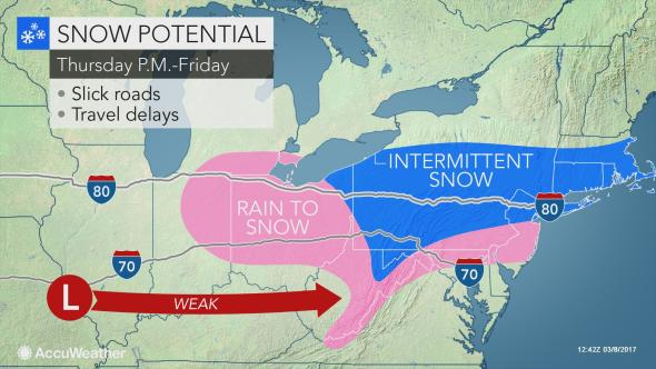 Winter storm watch issued ahead of nor'easter next week