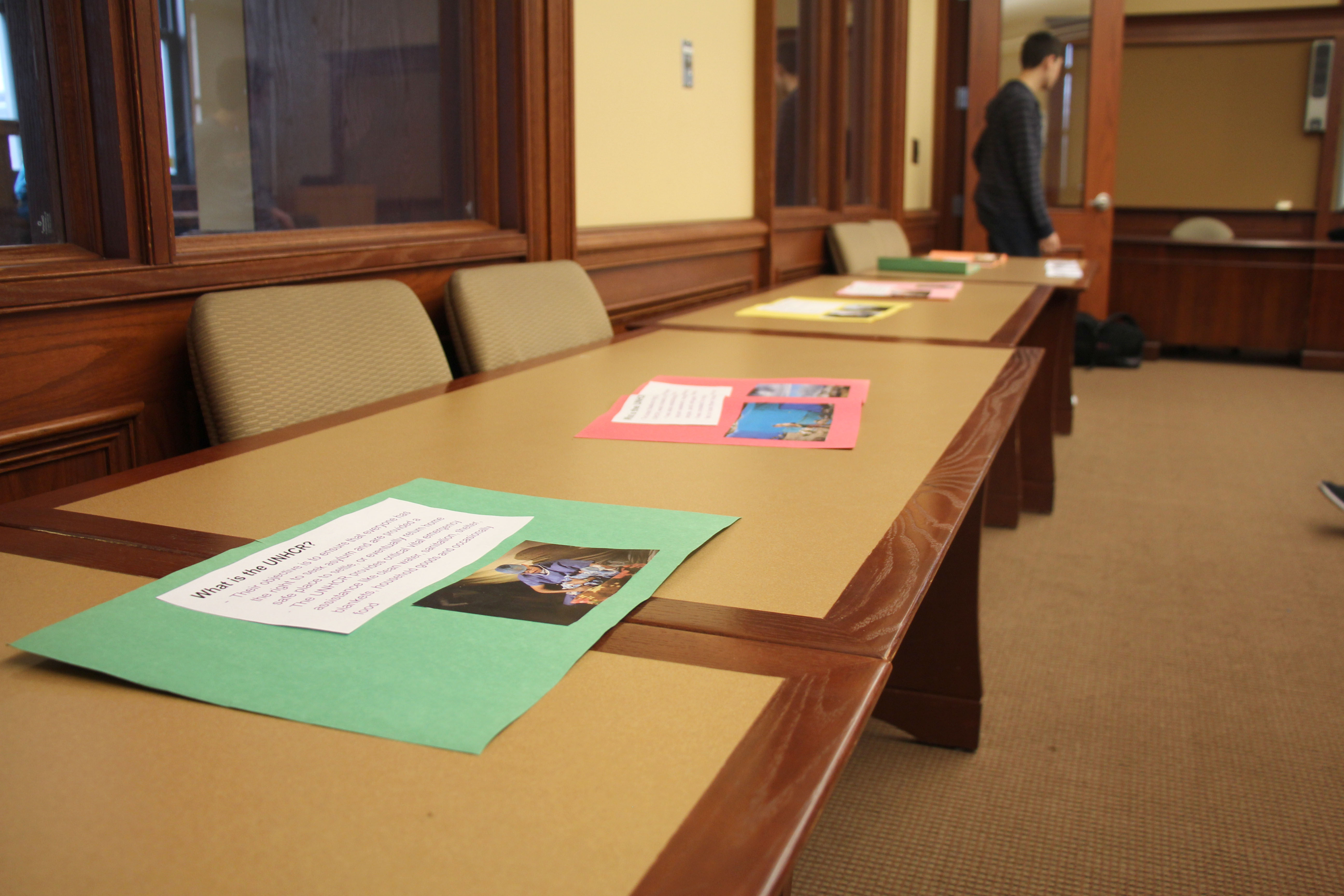 PMHS Students Transform Library Into Syrian Refugee Museum - Most interesting museums in us