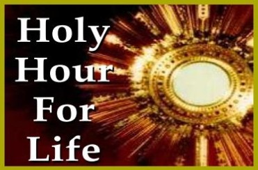 Unborn Jesus Novena of Holy Hours at Ss Peter and Paul