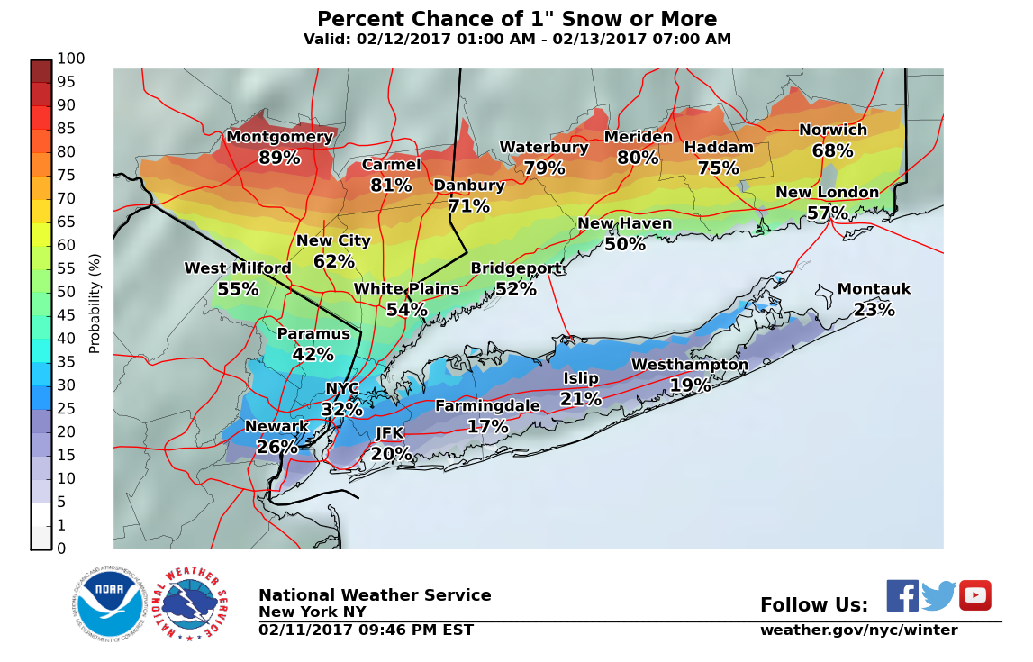 Winter Weather Advisory Issued For Long Island Riverhead NY Patch