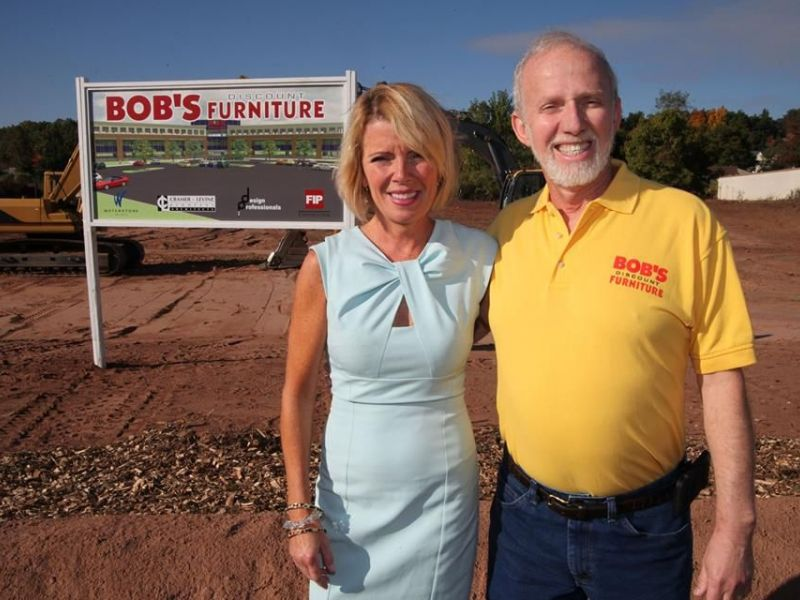 Ground Broken For Bigger Bob S Discount Furniture Hq In