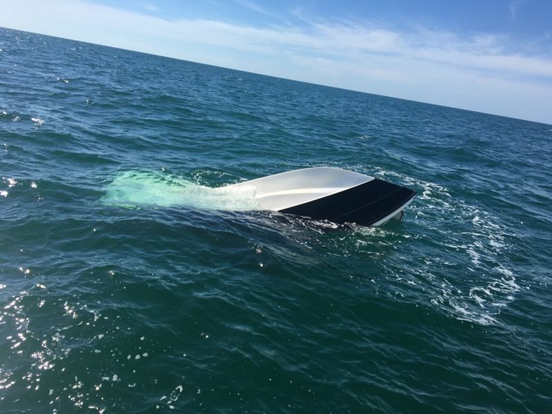 2 Men Plucked From Water After Boat Sinks Dunedin Fl Patch