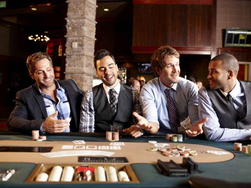 Ca casino employee in in treated unfair chinook winds casino gaming bingo player cards resort