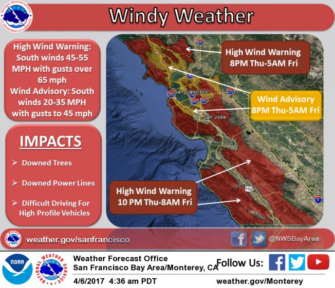 Here Comes the Rain Again; Strong Winds Could Topple Trees, Power Lines