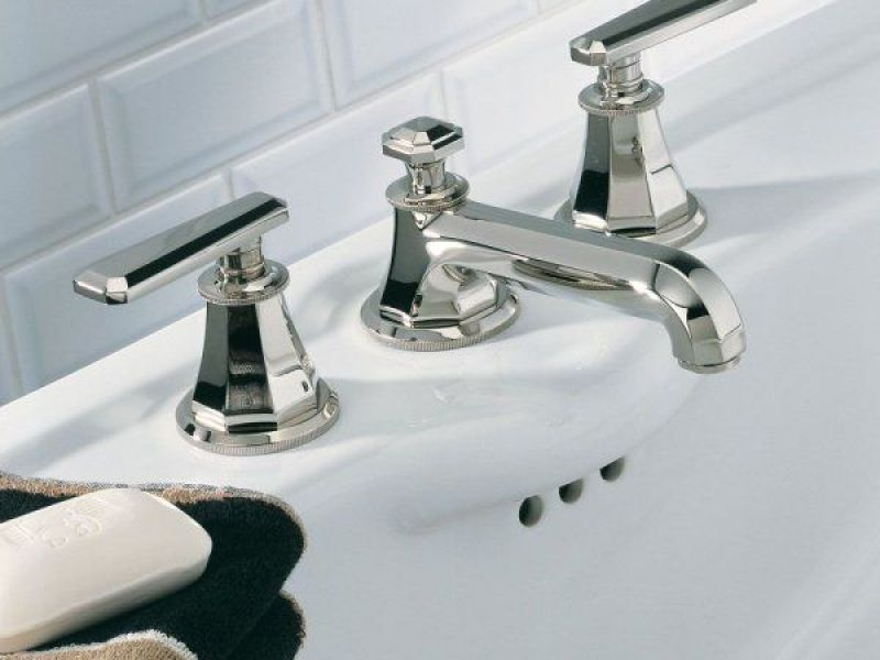 Brushed Silver Bathroom Faucet