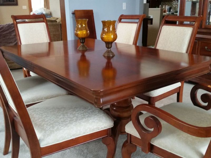 Dining Room Set With China Cabinet For Sale New Lenox 0